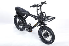 Load image into Gallery viewer, Ariel Rider Ebikes - D-class dual motored fat tire scrambler ebike with front rack.