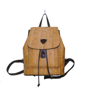 Beautiful Cork & Leather backpack - AmalfiBazar