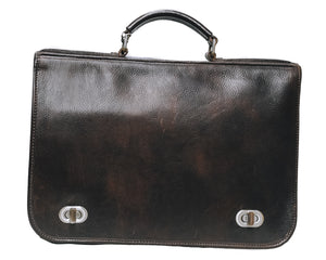 Beautiful Leather Office Bag not to be missed - AmalfiBazar
