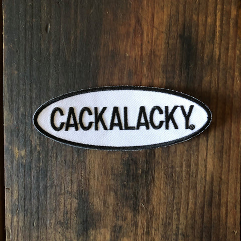 Cackalacky® Embroidered Iron-on Patch