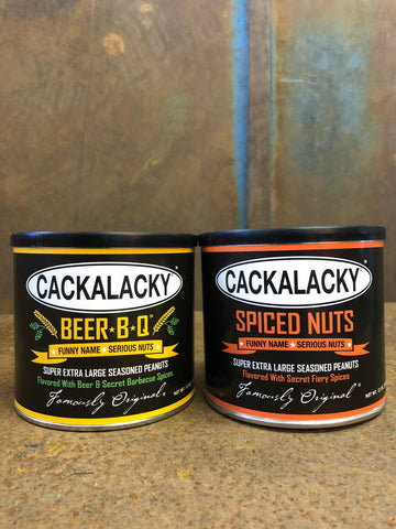 The Ol' One-Two! Cackalacky® Completely Nuts Variety 2-Pack