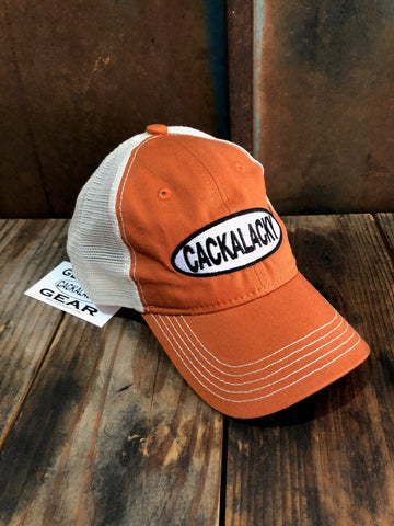 Cackalacky® Trucker Ball Cap - Spice Orange