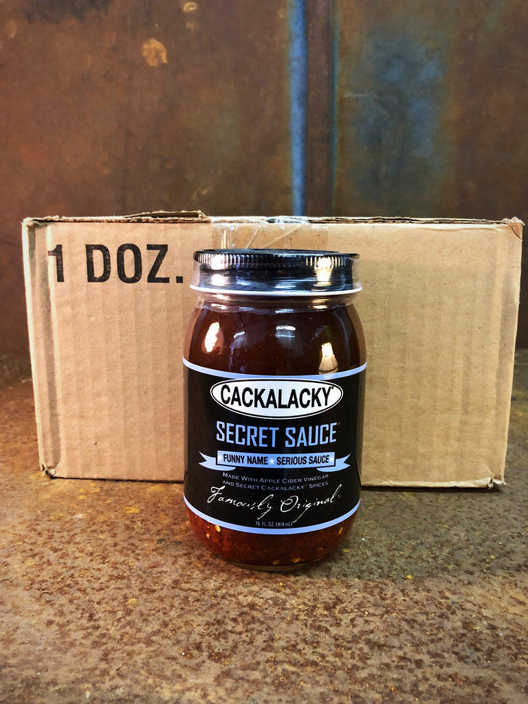 Cackalacky® Secret Sauce™ - 16 oz  Jar - Case of 12
