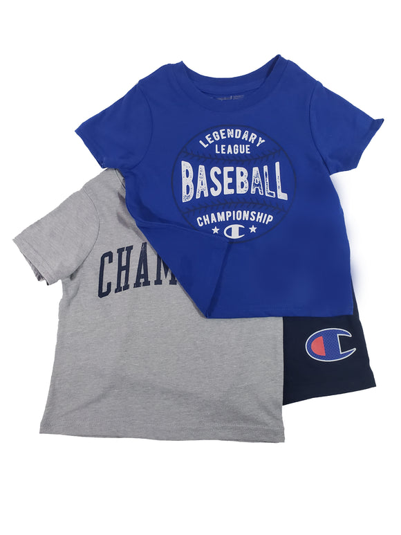 Toddler Boy Legendary Baseball 3-piece Active Set