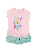 Toddler Girl Play All Day 3-piece Activewear Set