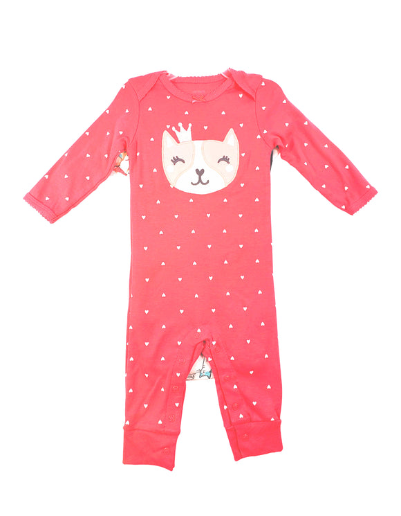 Baby Girl Kitty Queen 3-piece Set