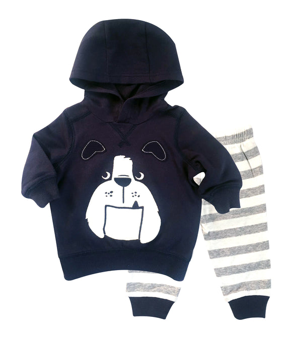 Baby Boy Bull Dog  2-piece Set