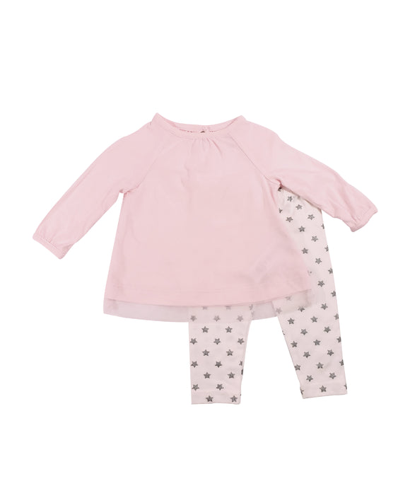 Baby Girl Star Sparkle 2-piece Set