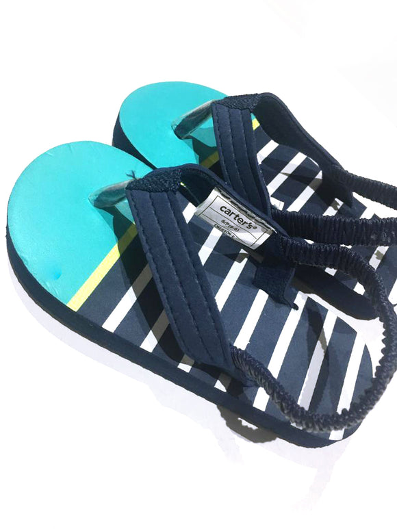 Boys Bahama Blue Slingbacks