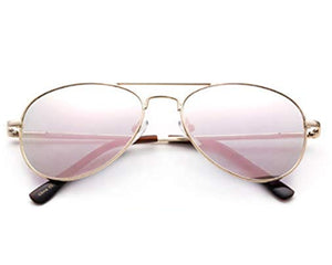 Blush Goddess Kids Aviators
