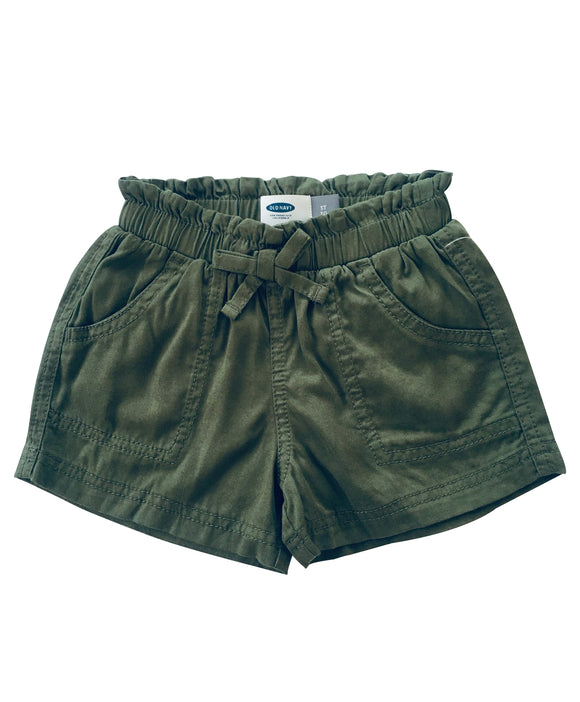 Toddler Girl Ruffle Cargo Shorts