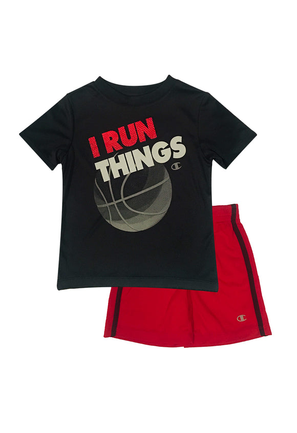 Toddler Boy Baller Graphic 2-piece Activewear