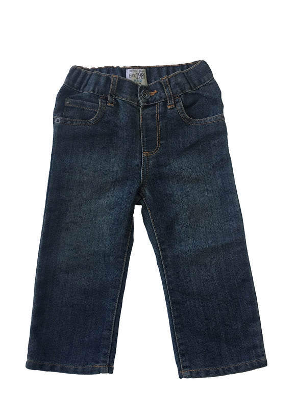Toddler Boy Denim Iceberg Indigo Wash Jeans