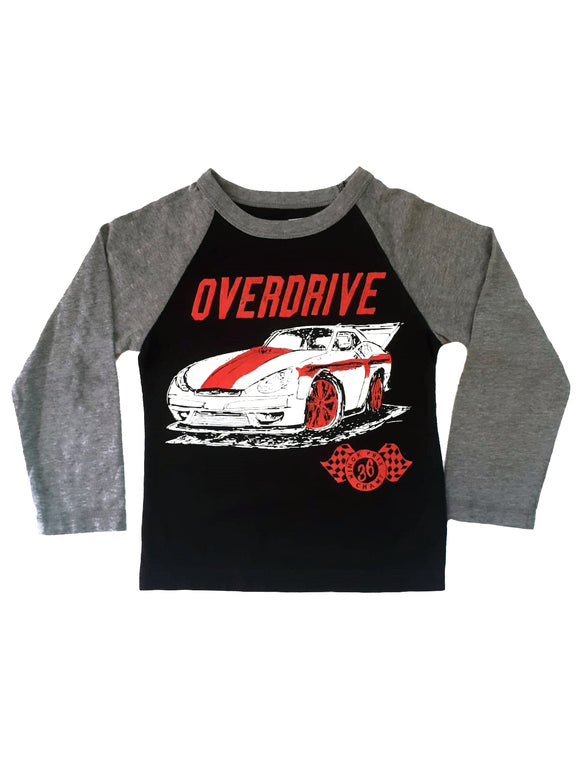 Toddler Boy Overdrive racer T-shirt