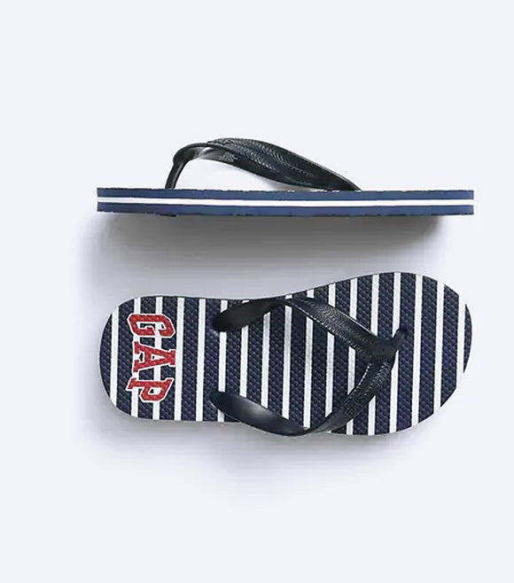 Boys GAP Patriot Flip Flops