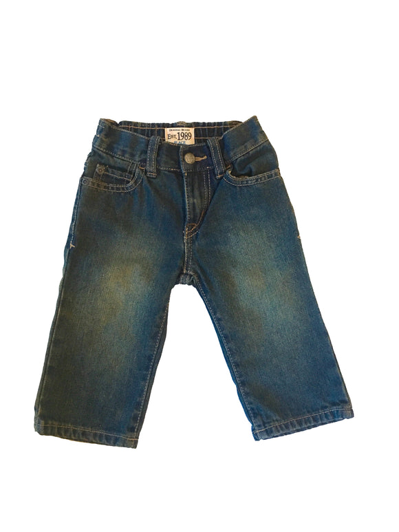 Baby Boy Denim Med Stone Wash Jeans