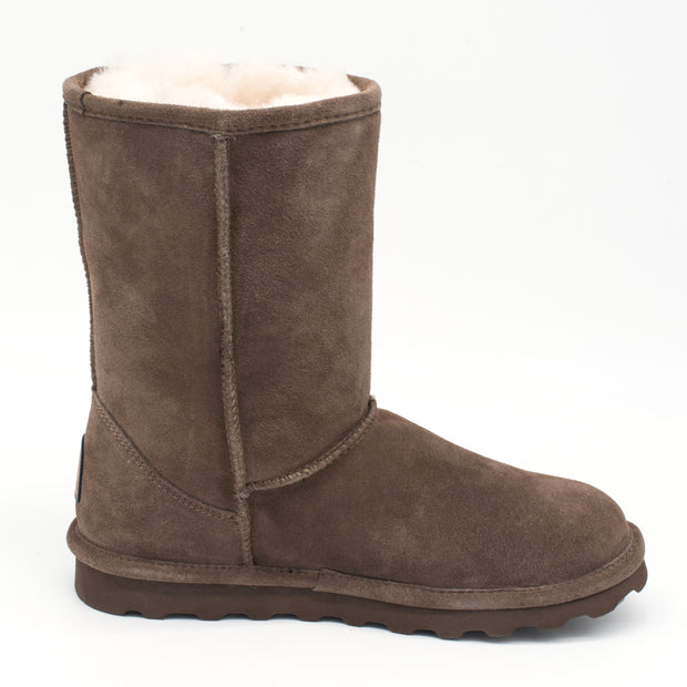 Bearpaw Elle Short Mid-Calf Boot with Stain Repellent Treatment