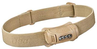 Princeton Tec Fuel 70 Lumens LED Headlamp, Tan