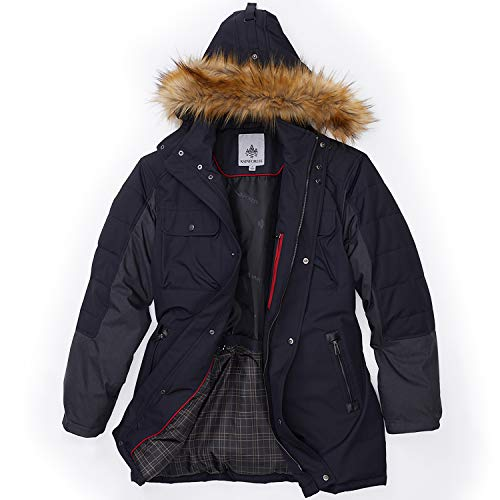 Oxford Nylon Thermoluxe Fill Parka - Winter Coat for Men