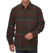 Heavyweight Plaid Flannel Shirt Jacket