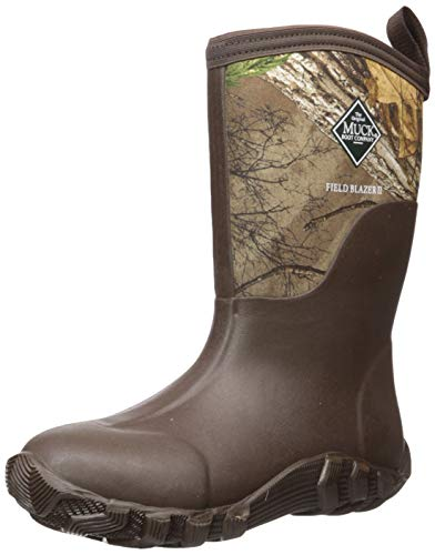 Muck Boot Men's Fieldblazer 2 Mid Calf Boot, Realtree Extra, 13 Regular US