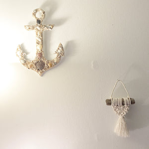 Mini Mermaid Tail Wall Hanging