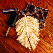 Load image into Gallery viewer, Feather Keychain