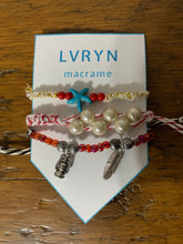 Load image into Gallery viewer, Silver Charm Bracelet Set