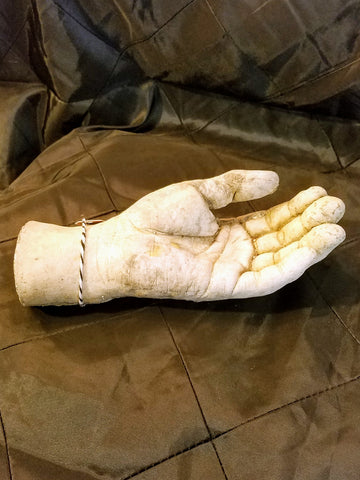 Cast Cement Hand