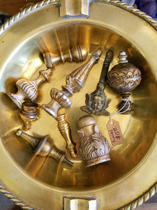 Assorted Metal Finials and Knobs - $7.50 each