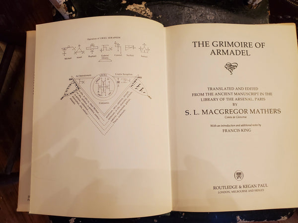 The Grimoire of Armadel, 1983 edition, by S. L. MacGregor Mathers