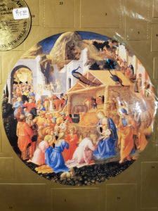 Catholic Advent Calendar with Painting