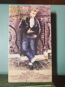 Rebel Without A Cause VHS Tape