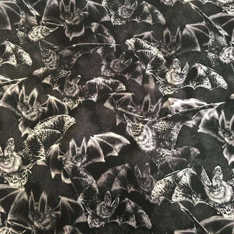 Reusable Fabric Face Mask Flying Bats
