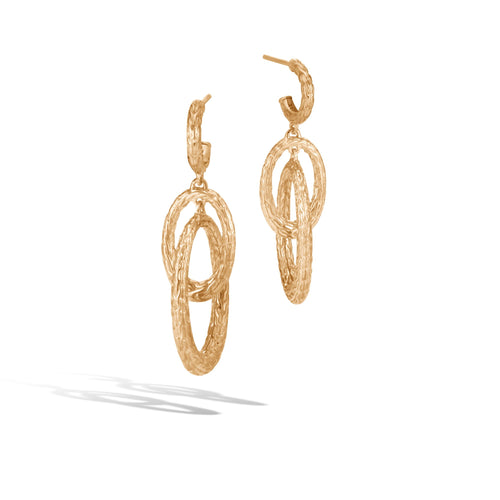 CLASSIC CHAIN DROP EARRING
