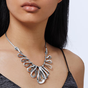 ASLI CLASSIC CHAIN LINK BIB NECKLACE