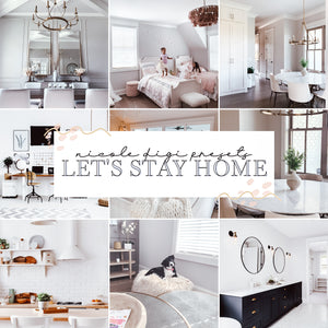 Let's Stay Home Preset Pack