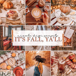 It's Fall, Ya'll