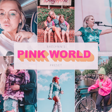 RaeLynn's Pink World Preset
