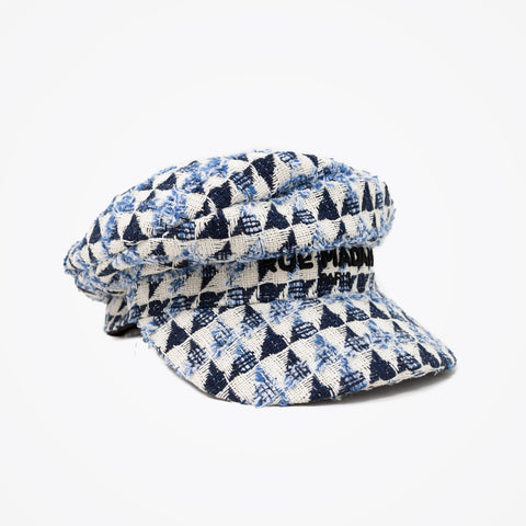 RUE MADAM PARIS Cappello Baker boy blu |