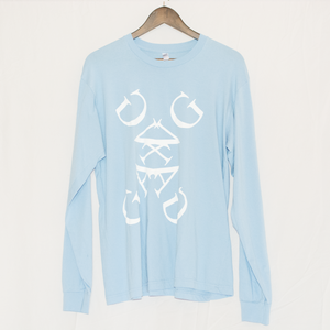 Will Bankhead Logo Blue Long Sleeve T-Shirt