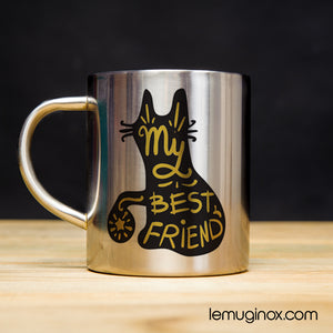 Tasse en inox My best friend