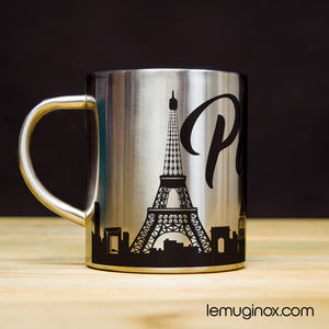 mug en inox Paris