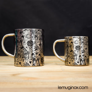 Tasse et mug en Inox Bouledogue tattoo