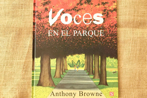 voces en el parque anthony browne fce portada