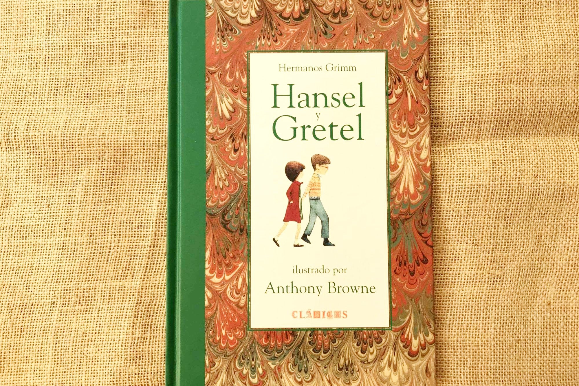 hansel y gretel anthony browne fce portada