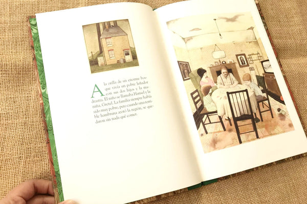 hansel y gretel anthony browne fce interior 1