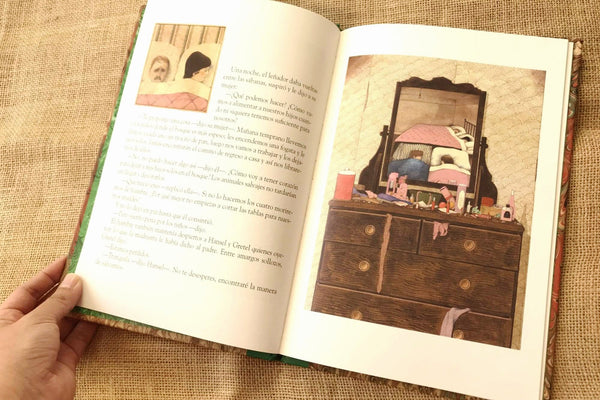 hansel y gretel anthony browne fce interior 2