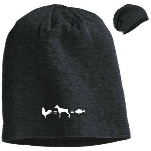 Slouch Beanie - Animals Are Equal