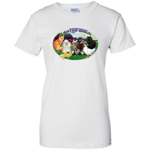 I Don't Eat Animals (color) - Ladies' Cotton T-Shirt